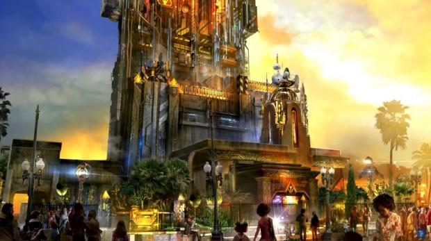 Guardians of the Galaxy Festung Artwork