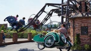 """""""Heißer Ofen"""" im Erlebnispark Tripsdrill"""