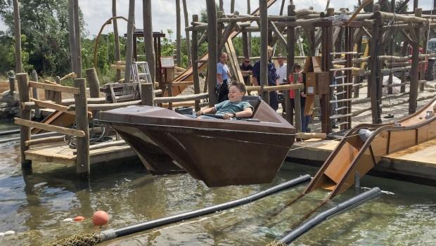 Fliegende Boote im Jaderpark