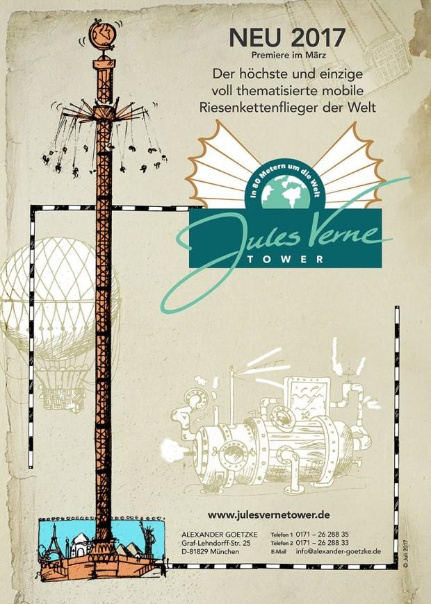 """Artwork von """"Jules Verne Tower"""""""
