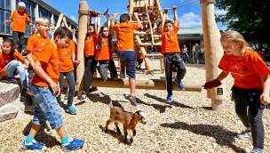 Kinderturn-Welt im Zoo Karlsruhe offiziell eröffnet
