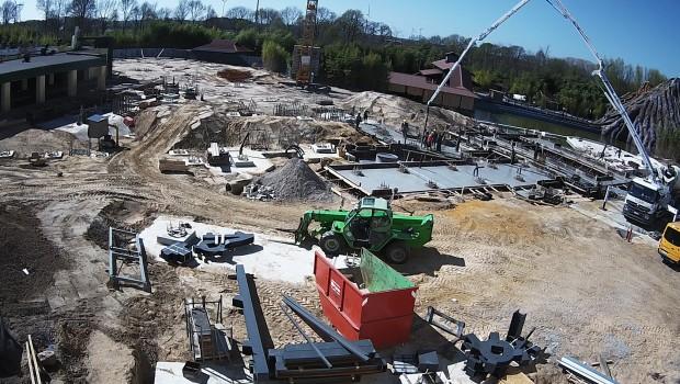 Movie Park 2017: Neue Achterbahn - Baustelle zur Ankündigung