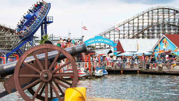 Santa Monica Pier im Movie Park Germany