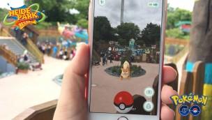 Pokémon Go im Heide Park