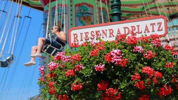 Riesenradplatz im Prater Wien