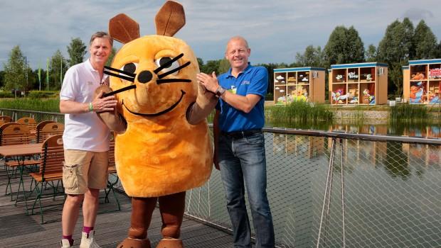 Ravensburger Spieleland Feriendorf Eröffnung: Jörg Pilawa und Carlo Horn