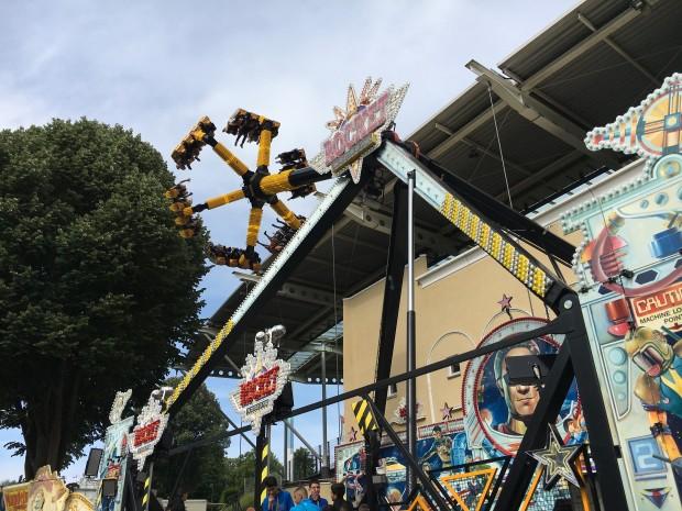 Rocket auf der Wuppertaler Mega-Kirmes