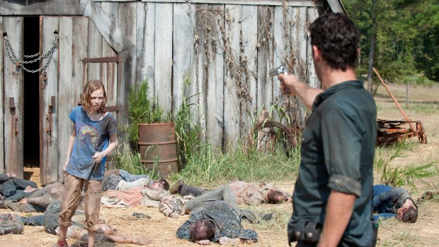 Scheune AMC The Walking Dead