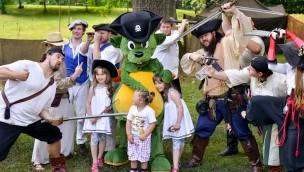 Erlebnispark Schloss Thurn veranstaltet Piratentag 2016: 50% Rabatt für verkleidete Kinder am 10. Juli