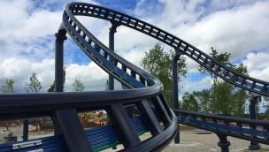 Steilkurve von Sky Dragster im Skyline Park