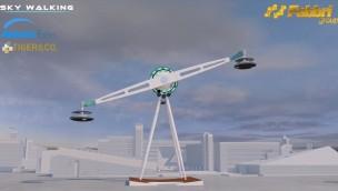 """Fabbri Group stellt """"Sky Walking"""" vor: Neue Attraktion für Aussichtsfahrten"""