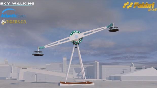 Sky Walking Fabbri Group Konzeptgrafik