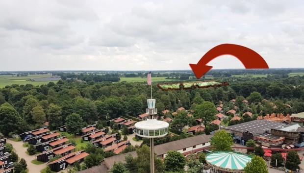 Slagharen Feriendorf Standort