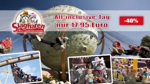 Slagharen-All-Inclusive-Angebot zum Sparpreis: nur 17,95 Euro für Ticket + unbegrenzt Pommes, Softdrinks uvm.