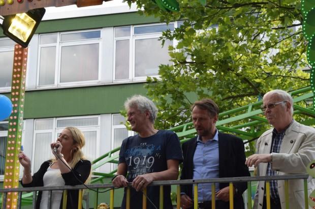 Eröffnung des Stadtfestes in Opladen 2016