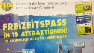 Tedi Freizeitpark-Gutschein 2016