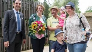 Tierpark Hellabrunn begrüßt 2016 einige Wochen früher als im Vorjahr seinen millionsten Besucher