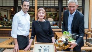"""""""Tao-Garten"""" im Tierpark Hellabrunn eröffnet: Neuer Kiosk im fernöstlichen Stil"""