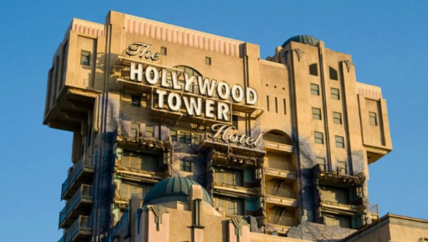 Twilight Zone Tower of Terror in Disneyland California Adventure