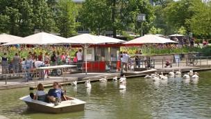 Tretbootfahren im Zoo Karlsruhe