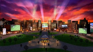 """Sydneys """"Worlds of Wonder"""" sollen 2021 eröffnen: Riesiges Freizeit-Resort mit zwei Themenparks, Wasserpark, Hotels geplant"""