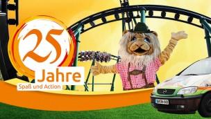 Die Bayern-Park Jubiläumswoche 2016: Großes Finale mit Shows und Preisverleihung am Samstag, 6. August