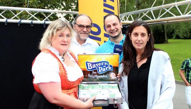 Bayern-Park Jubiläum Preisverleihung