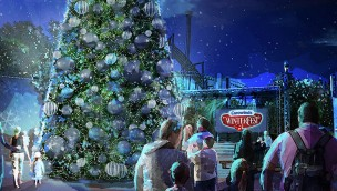 "Spaß im Winter in Cedar Fair-Parks: Carowinds, Worlds of Fun und Kings Island veranstalten 2017 ""WinterFest"""