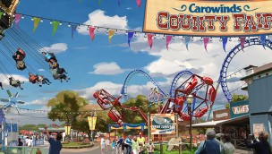 """Carowinds erhält 2017 Jahrmarkt-Flair: Themenbereich """"County Fair"""" mit vier neuen Fahrgeschäften angekündigt"""