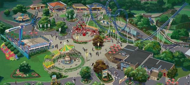 """Neuer Bereich """"County Fair"""" für Carowinds in 2017"""