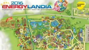 Energylandia Hotelbereich 2017 auf Parkplan