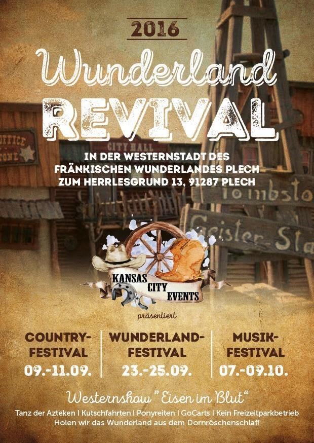 Fränkisches Wunderland Festivals Poster