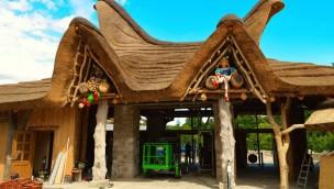 Neuer Eingang im Freizeitpark Plohn 2016
