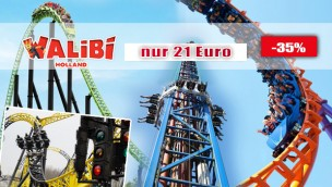 Günstige Walibi Holland-Tickets 2017