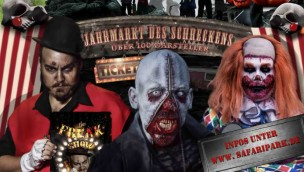 """Zoo Safaripark Stukenbrock – """"Jahrmarkt des Schreckens"""" Halloween-Event 2016 vorgestellt, Spar-Tickets jetzt erhältlich"""