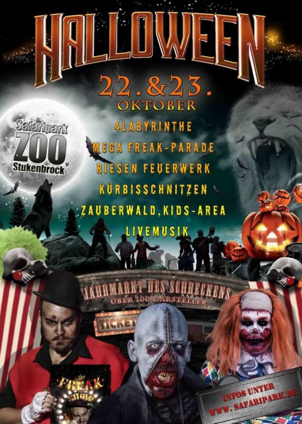 Halloween Stukenbrock 2016 Flyer