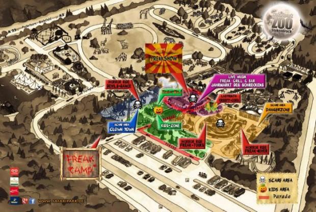 Halloween Stukenbrock Karte