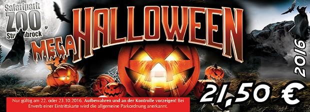 Halloween Ticket Stukenbrock 2016