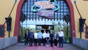 Ausbildungsstart 2016 im Heide Park: Azubis im außergewöhnlichen Abenteuer