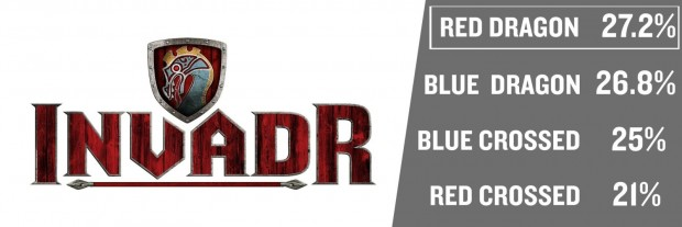 "Logo für ""InvadR"" in Busch Gardens Williamsburg"