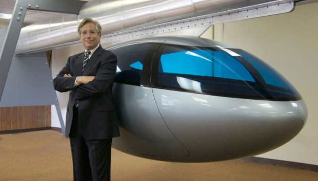skyTran Geschäftsführer Jerry Sanders