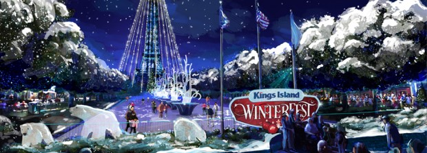 """WinterFest"" ab 2017 in Kings Island"