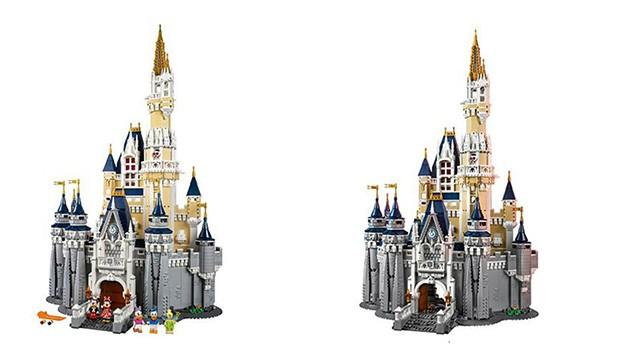 LEGO Disney Schloss