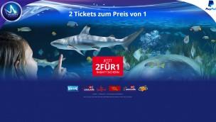 Merlin 2-für-1-Tickets mit Paypal-Aktion 2016 online zu bestellen – für Heide Park, LEGOLAND, SEA Life und mehr