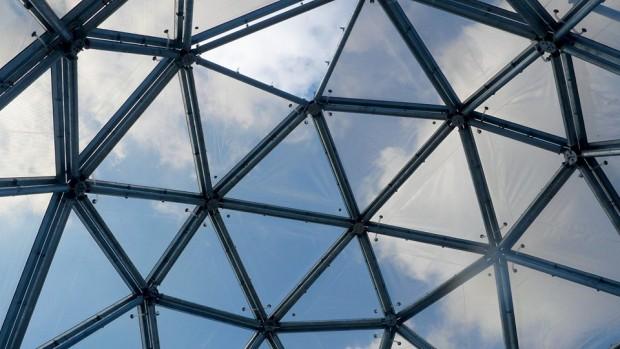 Mitoseum Kuppel Dach