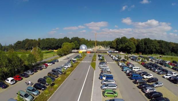 Mitoseum Parkplatz