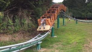 Parc Fenestre Cacahuète Express Achterbahn