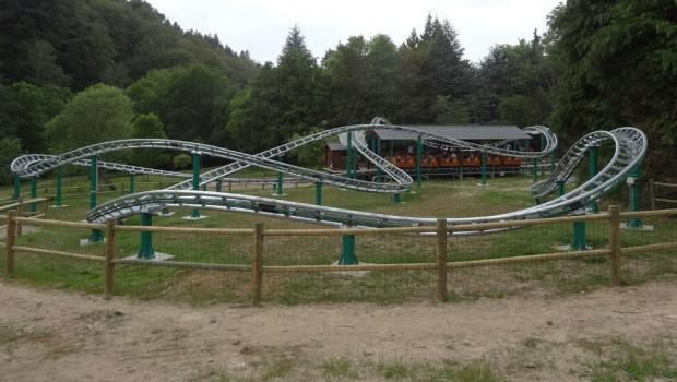 Parc Fenestre Achterbahn Strecke