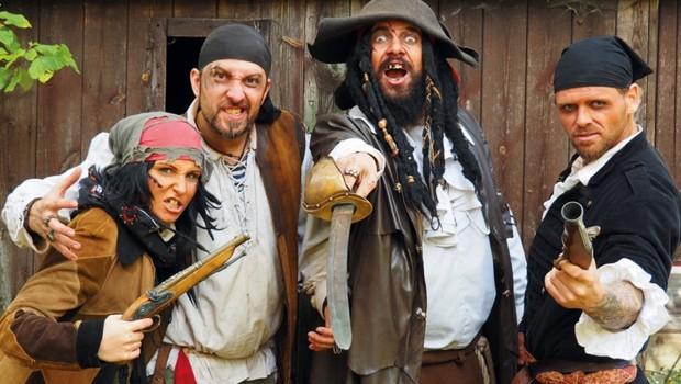 Piraten im Skyline Park
