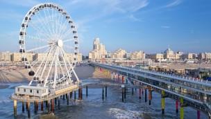"Europas erstes Riesenrad über dem Meer: ""Skyview de Pier"" in Den Haag eröffnet"